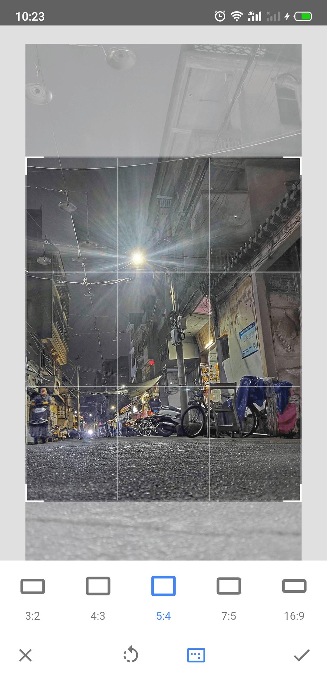 Snapseed  编辑中