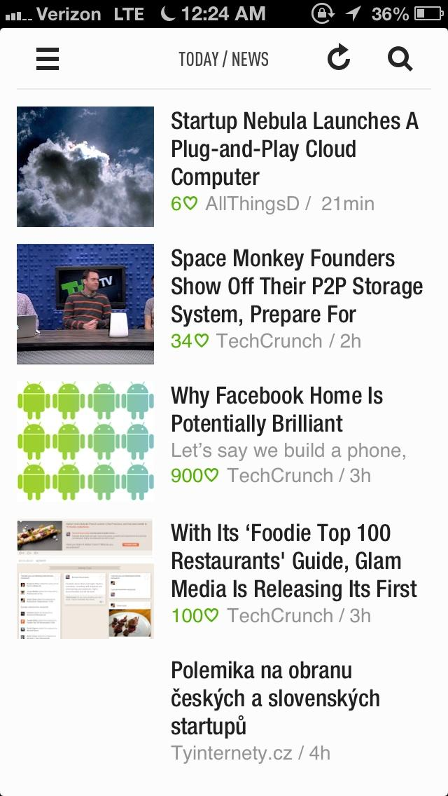Feedly: Your Google Reader, Youtube, Google News, RSS News Reader  列表