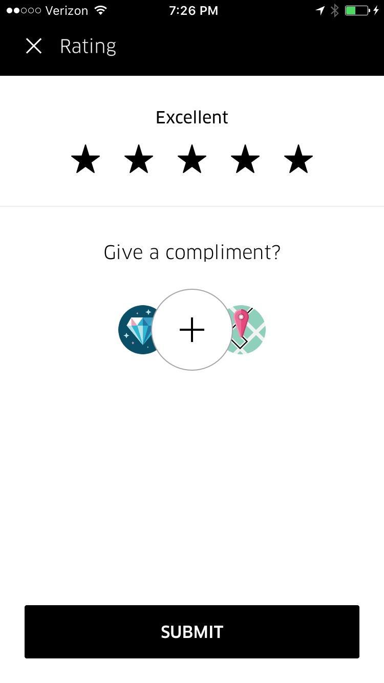 Uber  深色评论验证