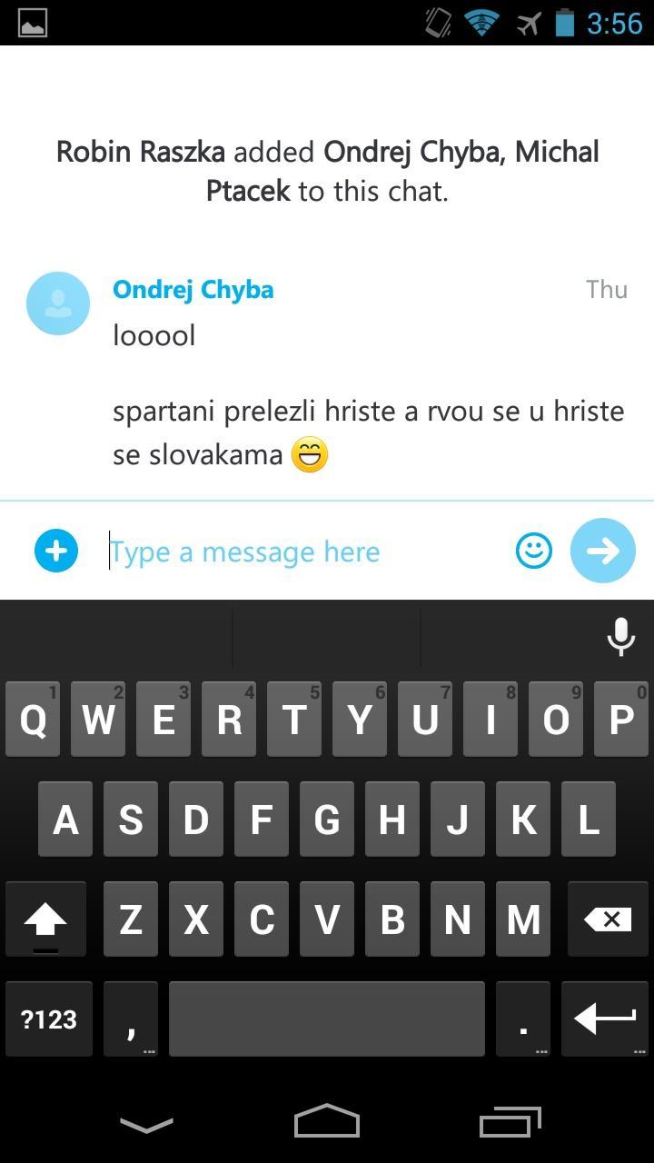 Skype - free IM & video calls  消息