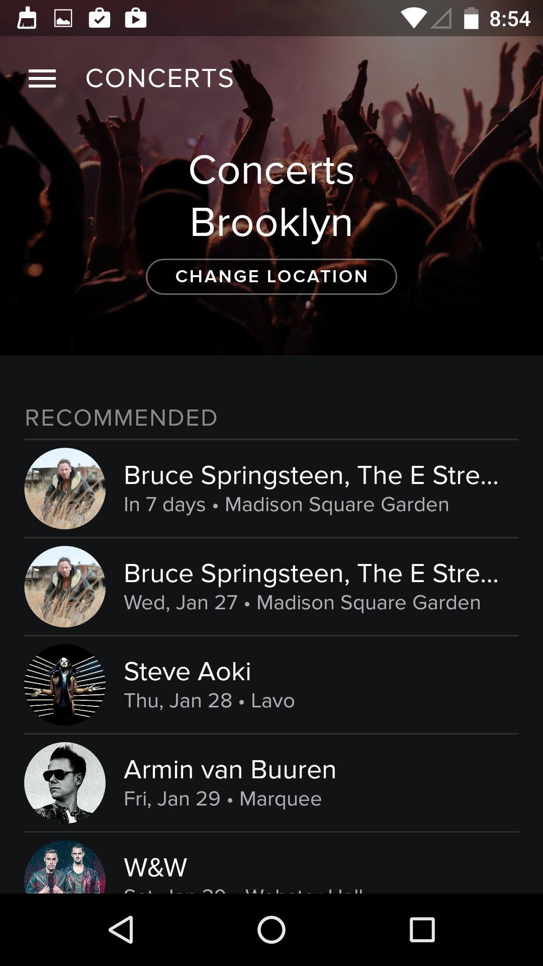 Spotify Music  活动