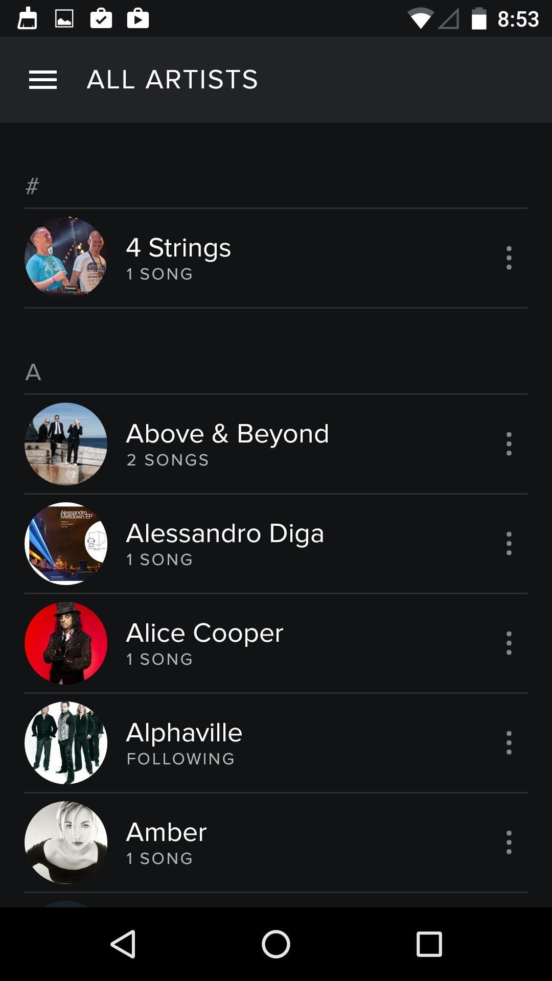 Spotify Music  好友
