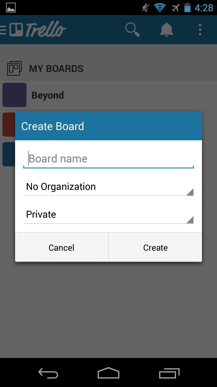 Trello - Organize Anything  浮层
