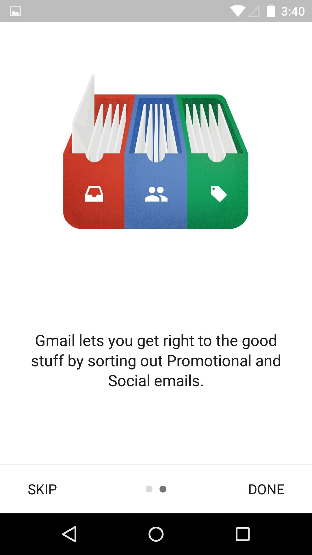 Gmail  新版本特性介绍