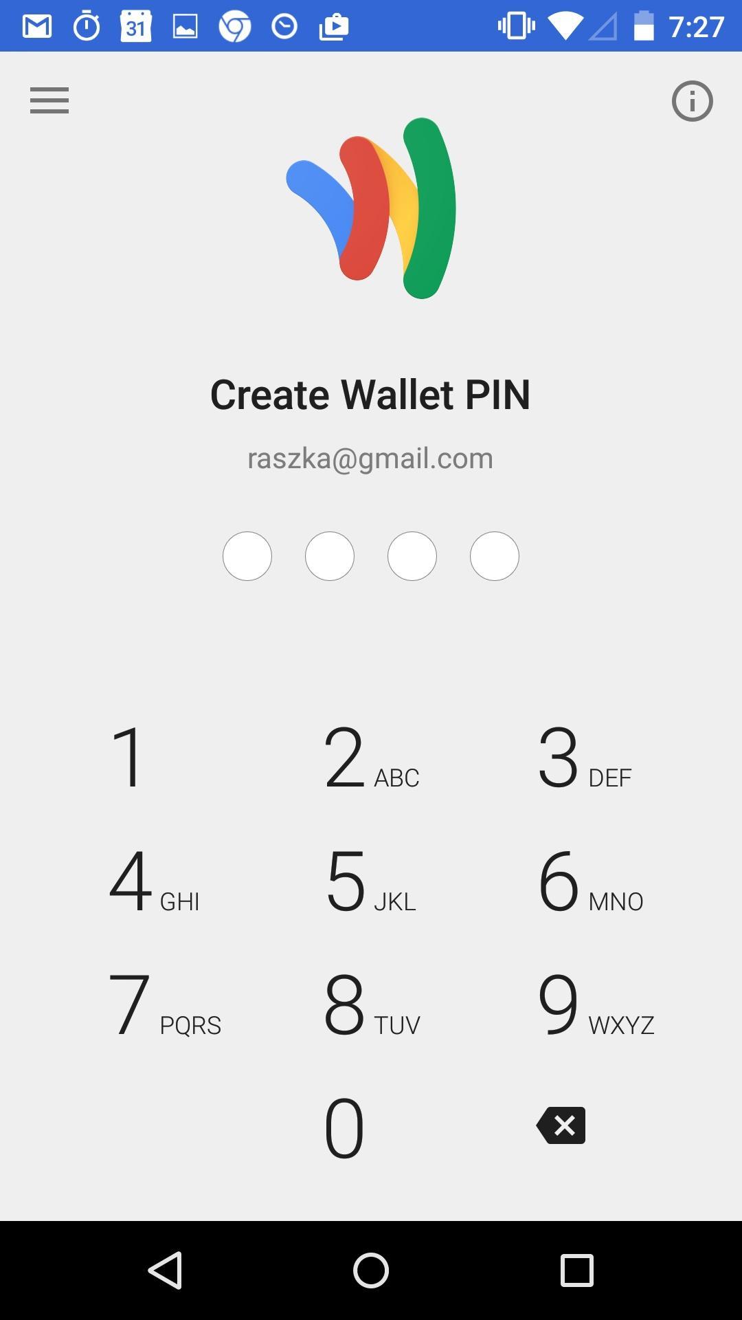 Google Wallet  登录