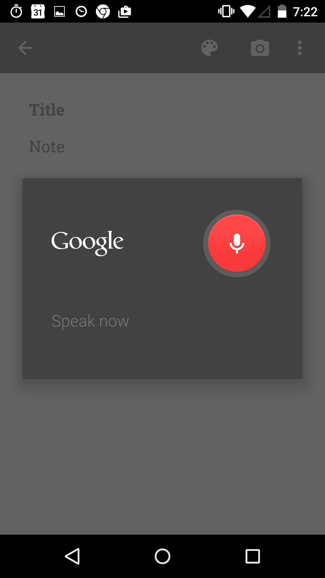 Google Keep - notes and lists  浮层