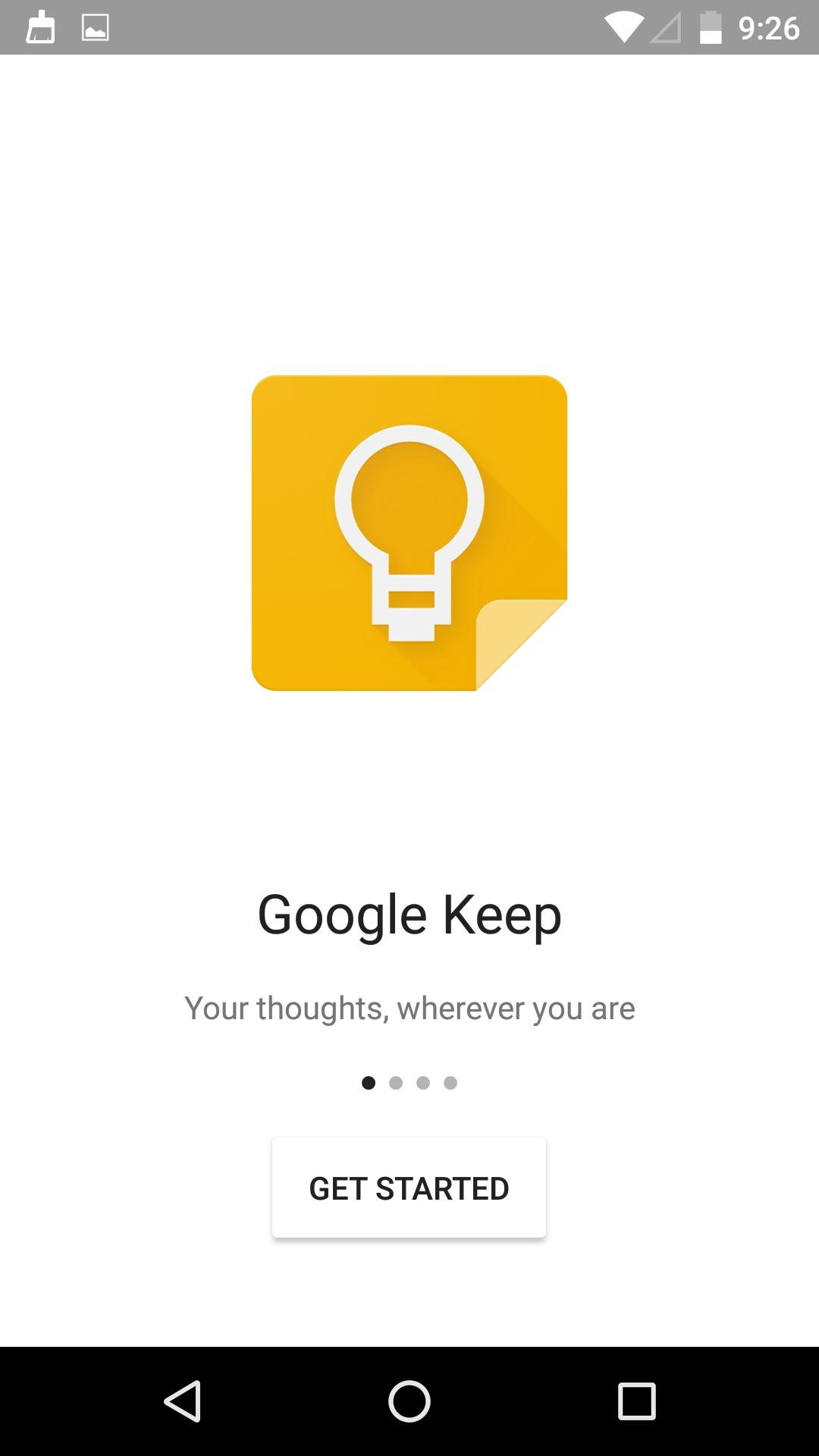 Google Keep - notes and lists  新版本特性介绍