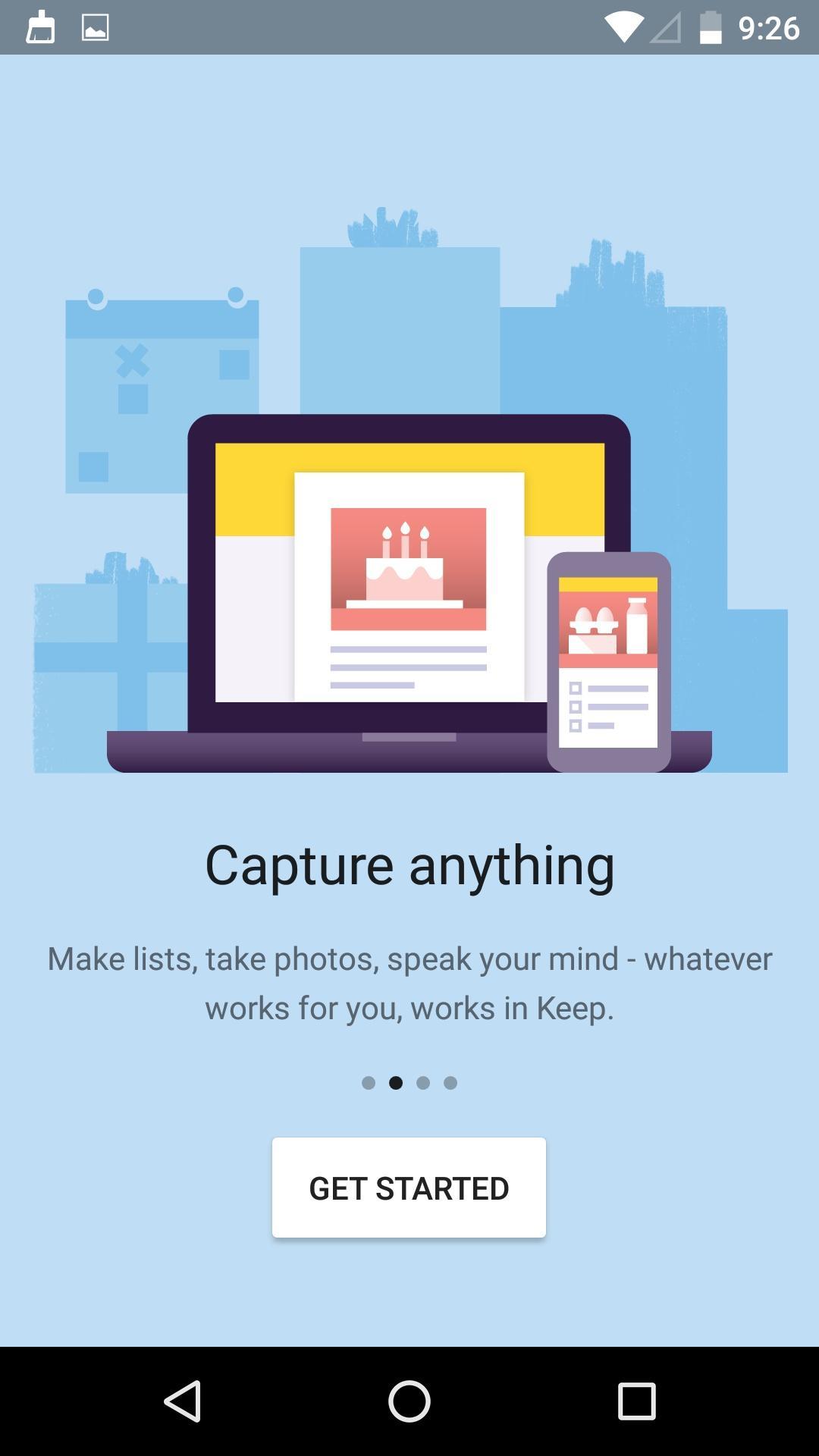 Google Keep - notes and lists  新版本特性介绍