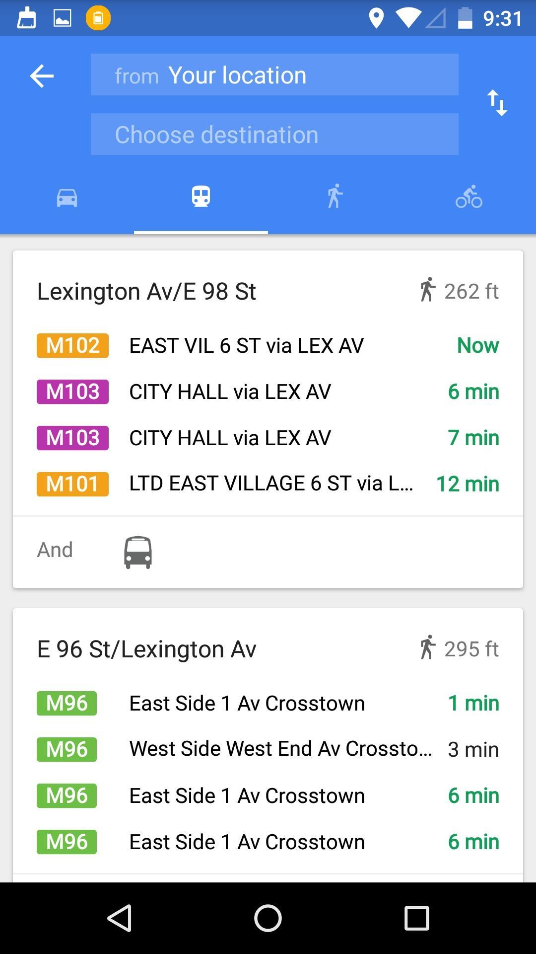 Maps  搜索