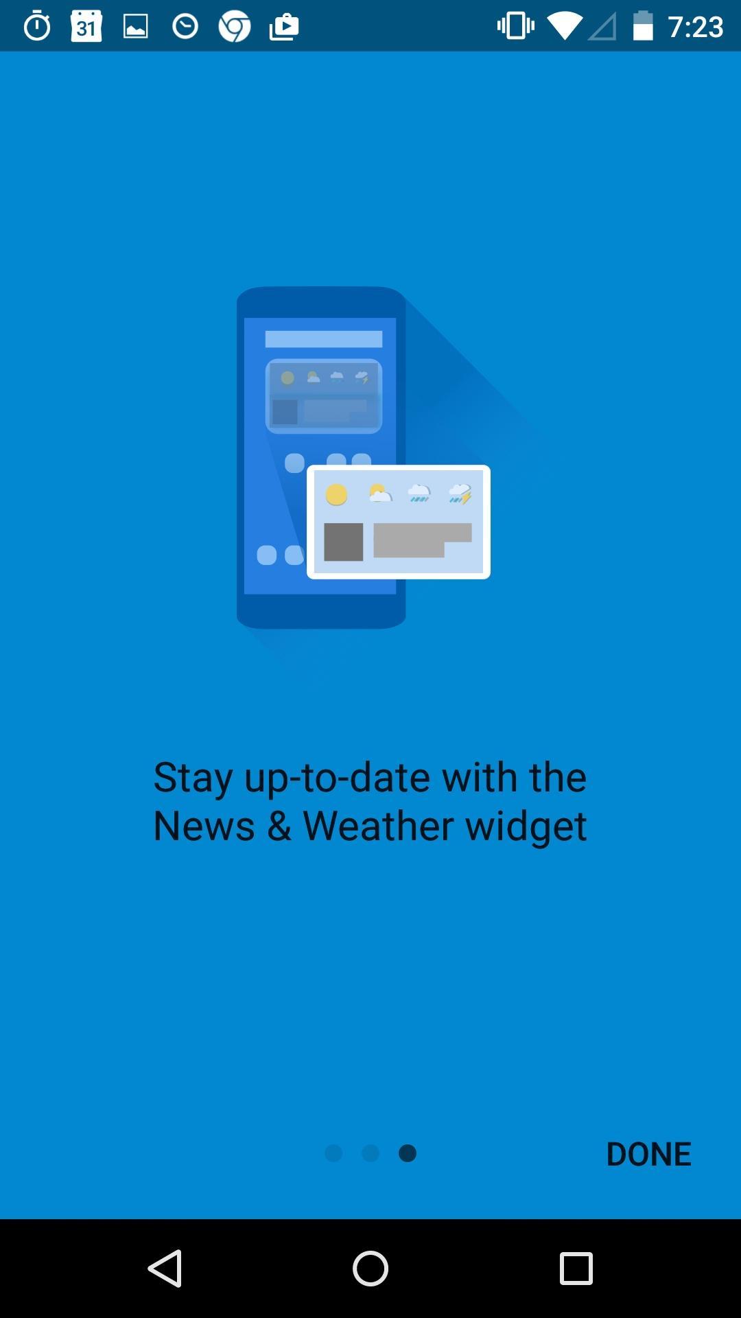 Google News & Weather  新版本特性介绍