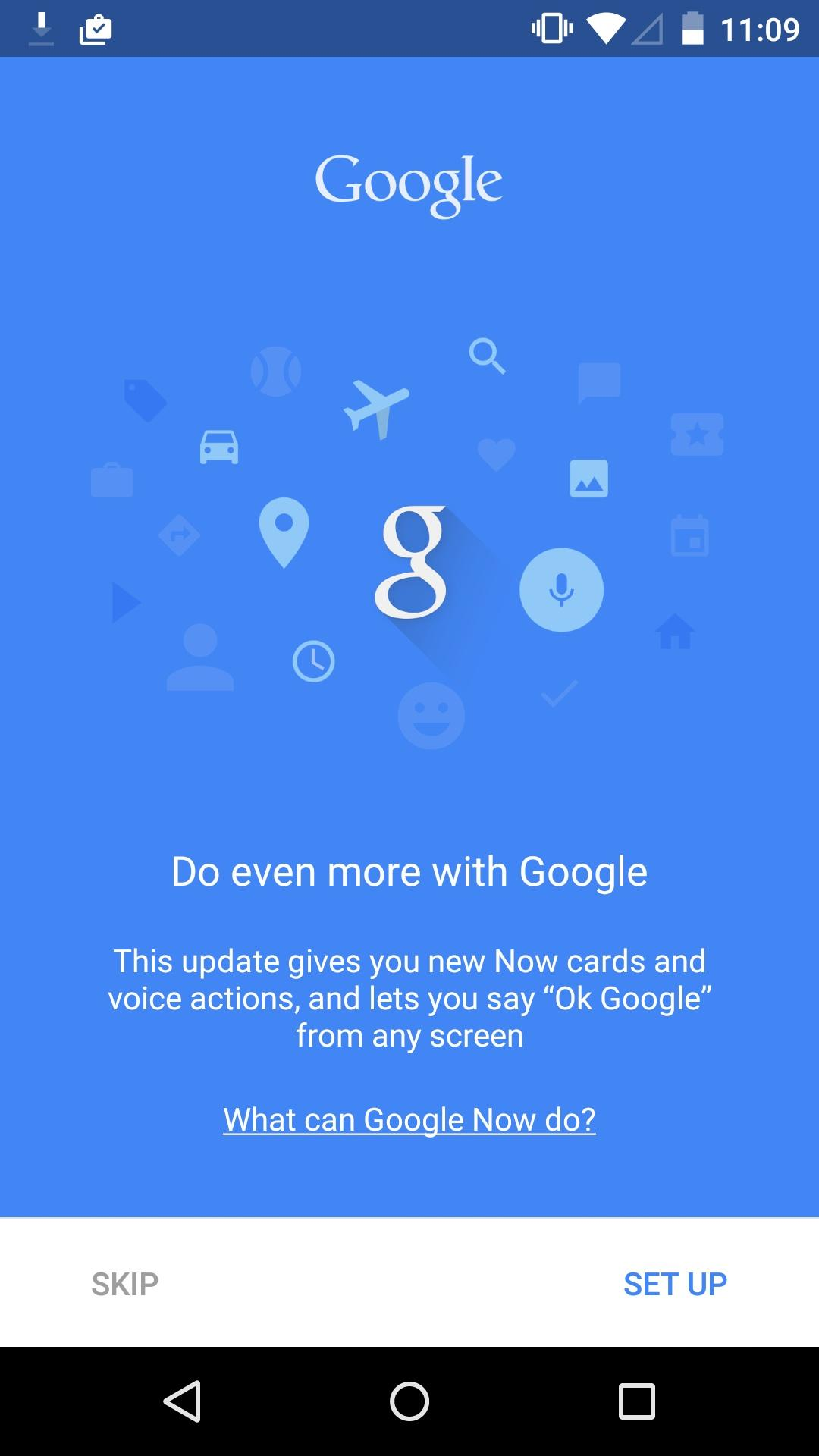Google Now Launcher  新版本特性介绍