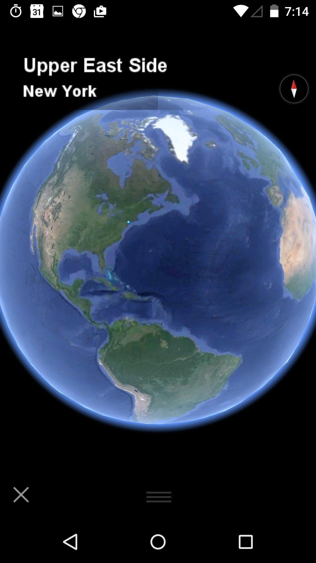 Google Earth  地图