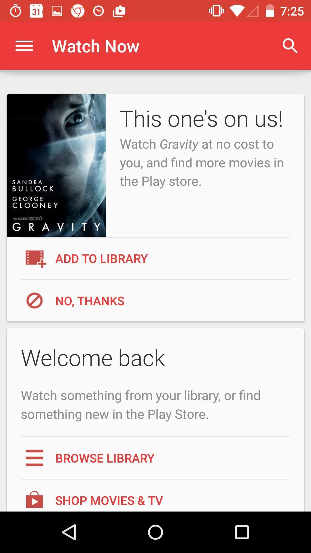 Google Play Movies & TV  首页