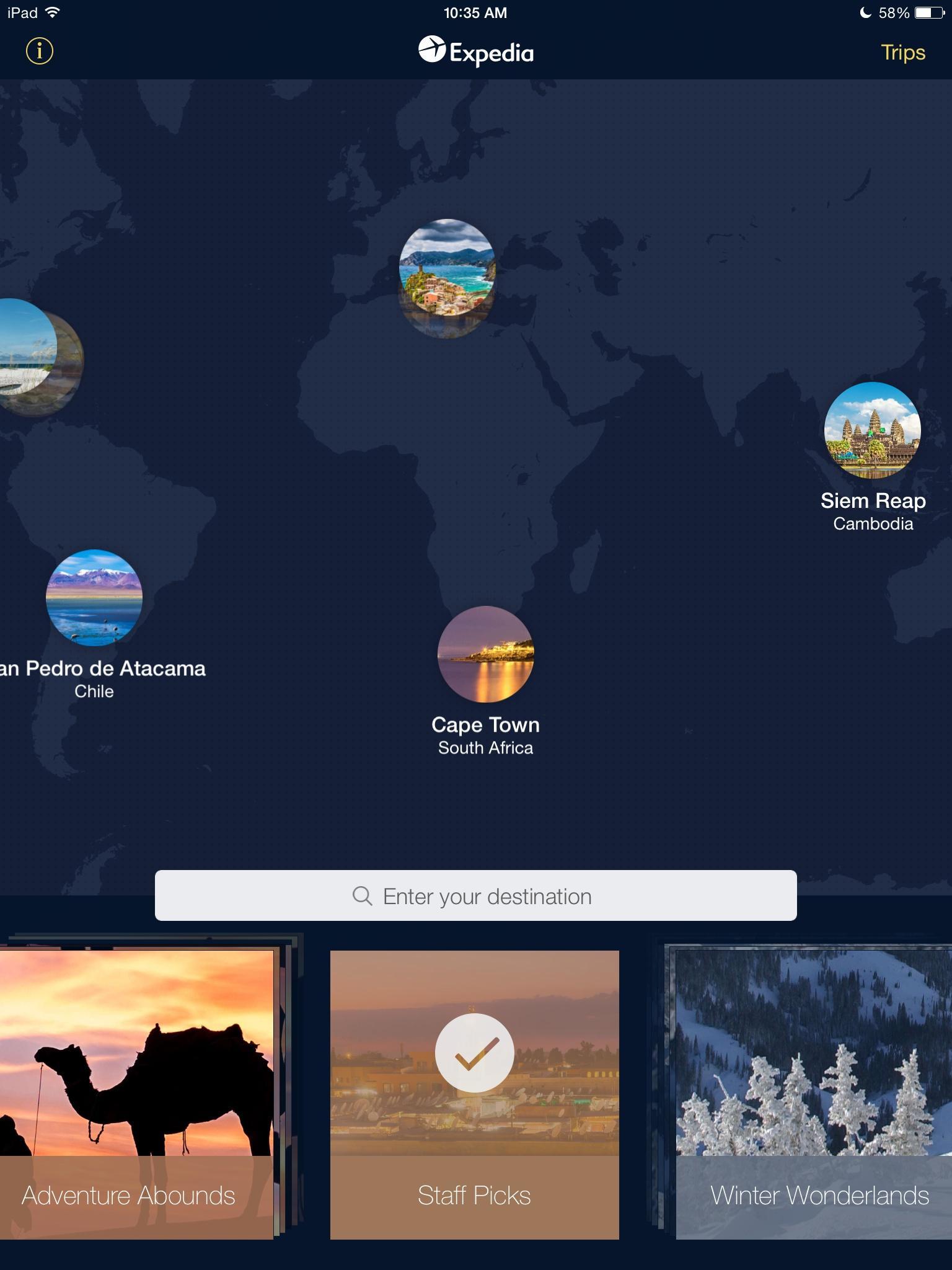Expedia Hotels, Flights & Cars  探索