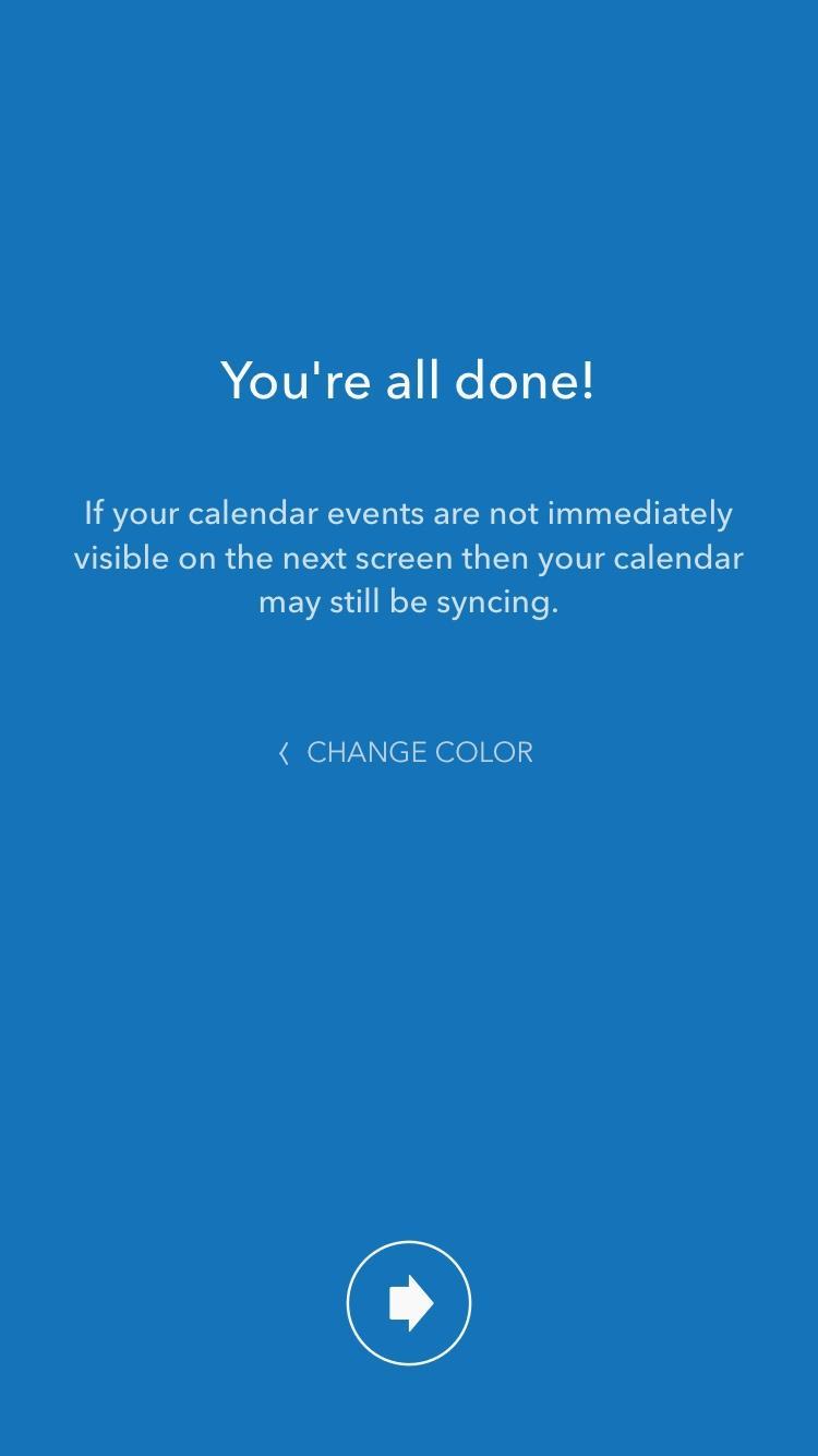 Moleskine Timepage – Calendar for iCloud, Google & Exchange  登录
