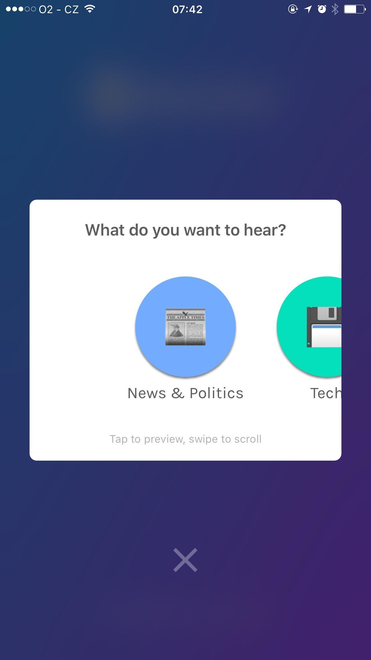 Anchor — Radio, Reinvented  水平布局探索